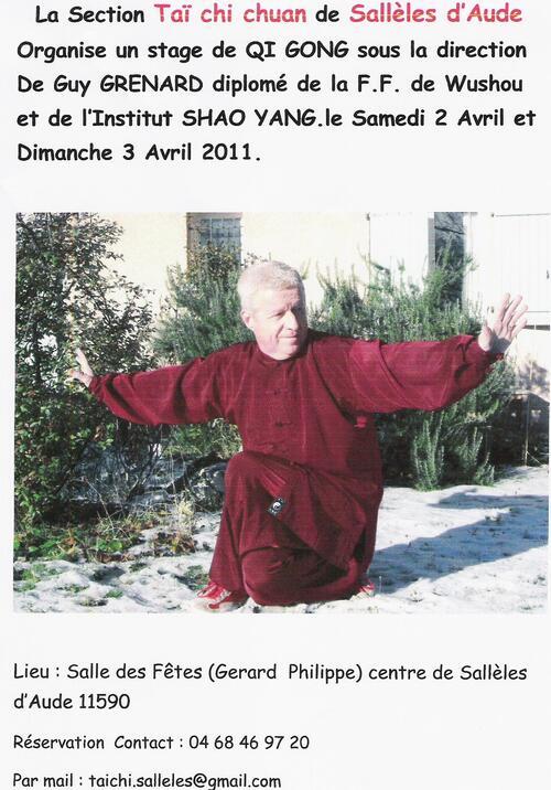 2011.04 - Stage de Guy Grenat