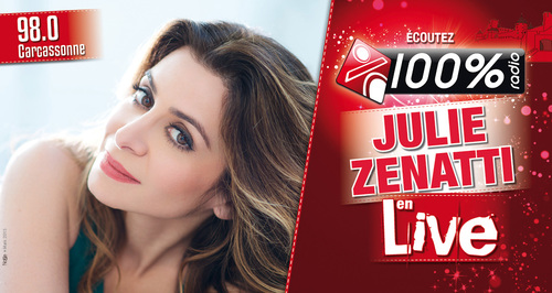 100% Radio - Showcase Julie Zenatti