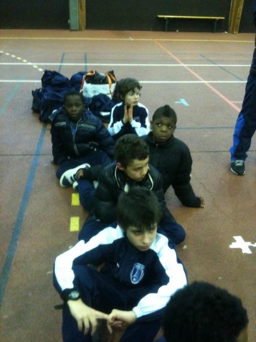 Tournoi U10-U11 à Sartrouville le 03 mars 2012