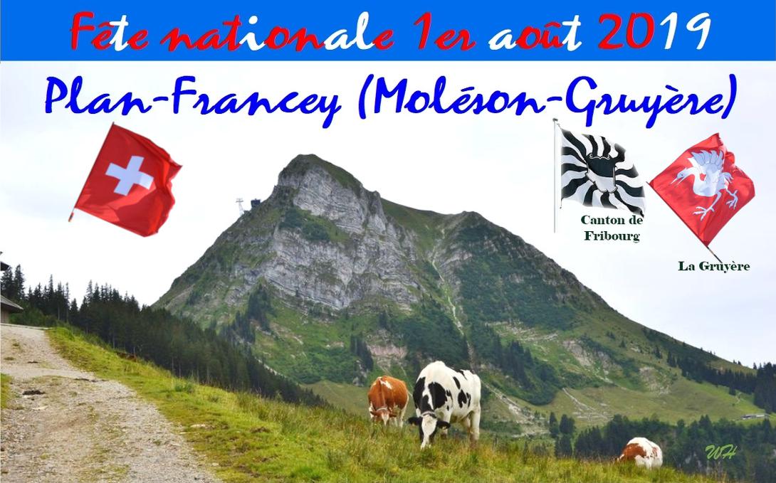 1er août 2019 à Plan-Francey (Moléson-Gruyère)