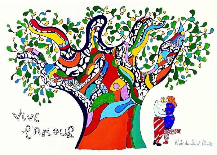L'arbre selon Niki de Saint Phalle