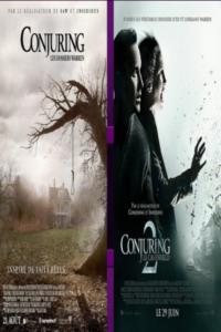 Conjuring : Les dossiers Warren et Conjuring 2 : Le Cas Enfield