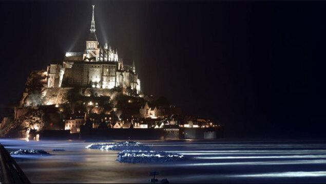 """la """"Marée du siècle"""" : baie du Mont Saint-Michel"""