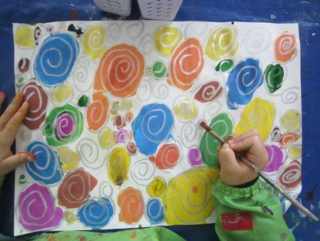 Idée Pinterest : Spirales et encre