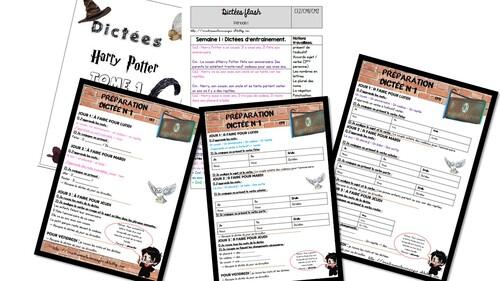 Préparation de dictées Harry Potter Tome 1