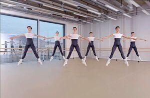 dance ballet class center dancers class