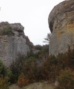 le passage entre les Rocs