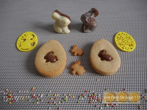 Sablés de pâques au nutella