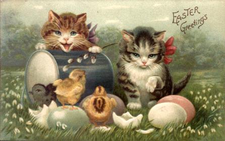 Pause pour la fête de Pâques.