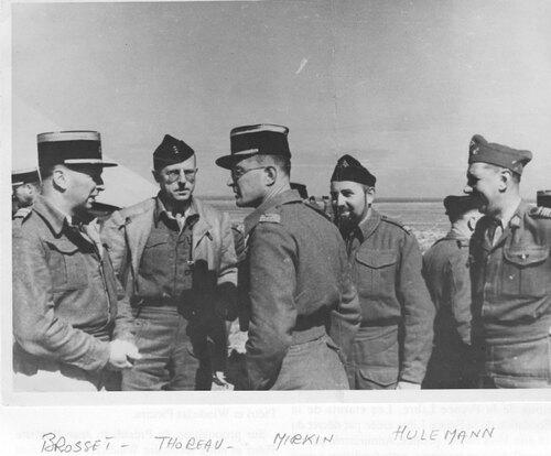 """* 76e Anniversaire de Bir Hakeim - Extraits (3) de la conférence de Claude J. CORNUEL """" Souvenir d'un vétéran de Bir Hakeim et d'El Alamein"""""""