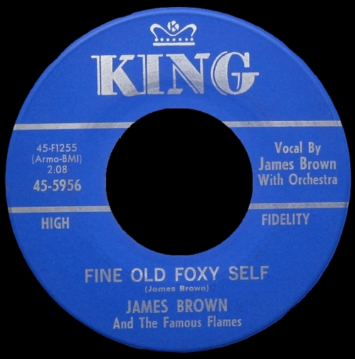 1964 James Brown & The Famous Flames King Records 45-5956 [ US ]
