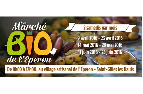 Marché Bio au village de l'Eperon