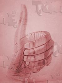 posture de la main que j'ai dessiné à l'aide de crayons hb, 2b et 4b (dessin d'observation)