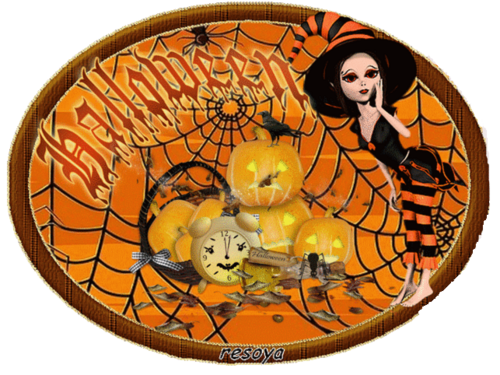 défi 33 thème Halloween
