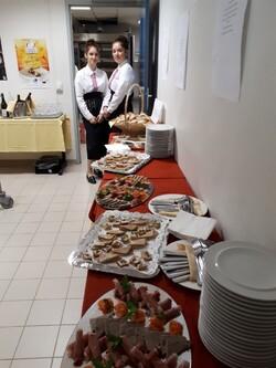 Accueil des candidats et du jury du championnat de France du dessert