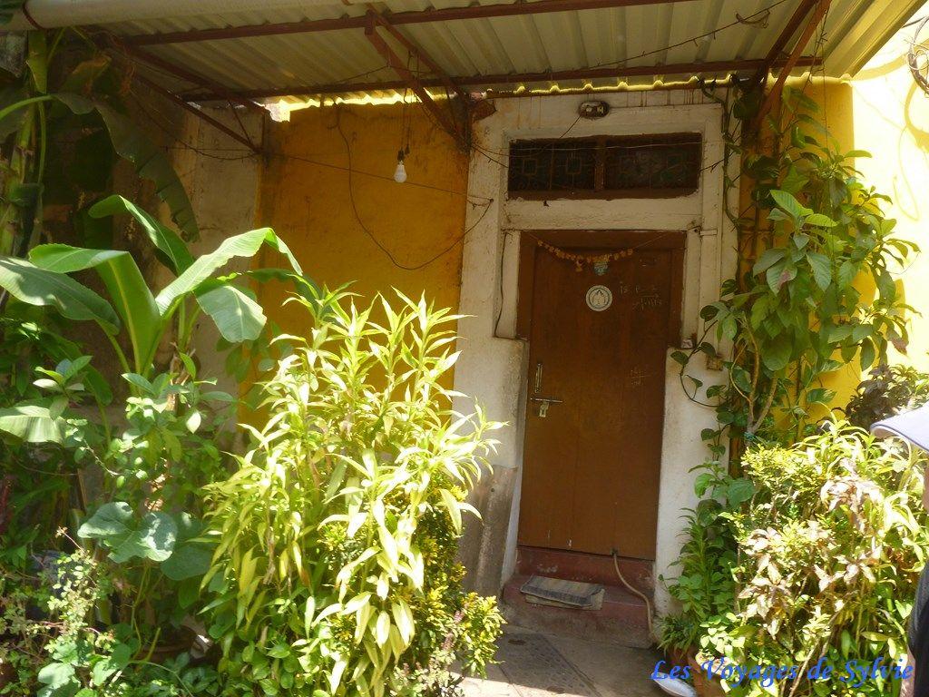 INDE NOR DE GOA - PANAJI - quartier latin de Fontainhas