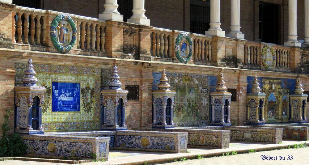 la plaza d'Espagne à Séville -5