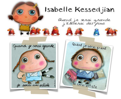 A la manière d'Isabelle Kessedjian
