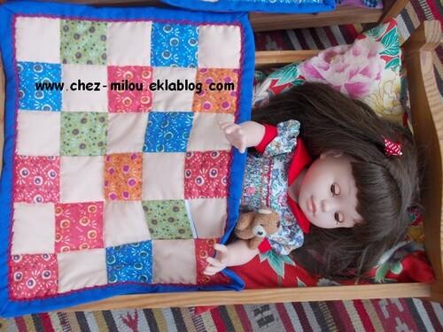 Quilts pour poupées