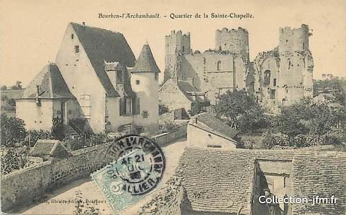 Bourbon l'Archambault  ( Allier )