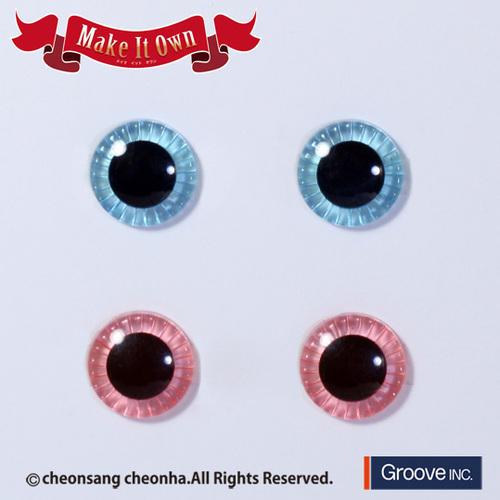 Eyechips Aqua Blue & Light Pink