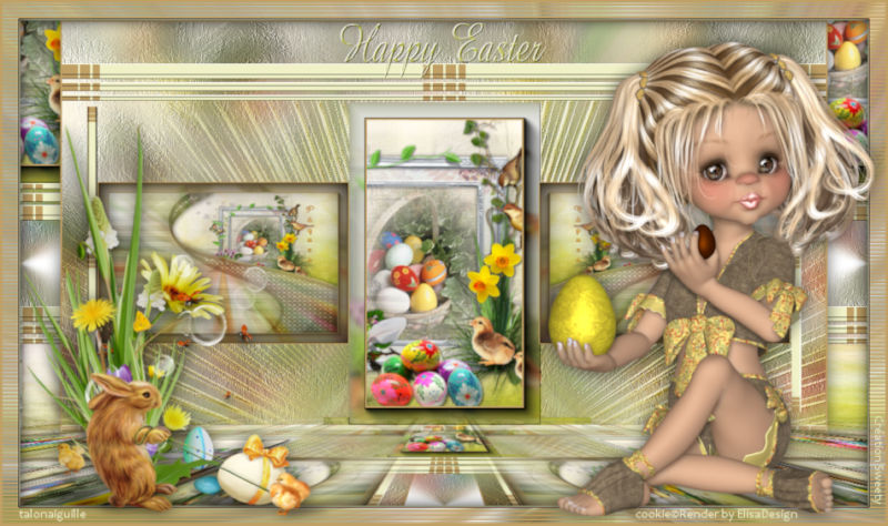 *** Le 154-Happy Easter ***