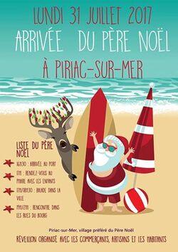 La Père Noel est en vacances à Piriac