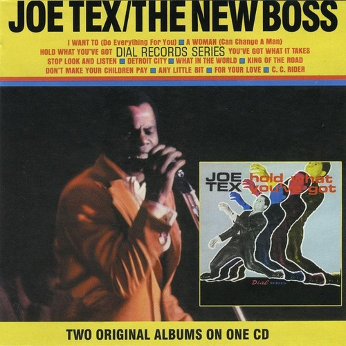 "Joe Tex : Album "" The New Boss "" Atlantic Records SD 8115 [ US ]"