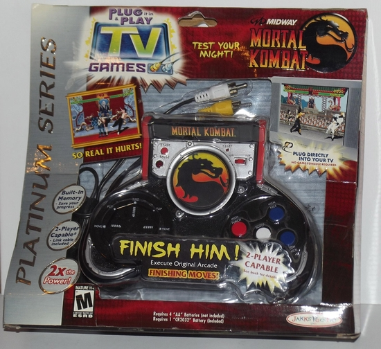 Plug and play tv games Mortal Kombat