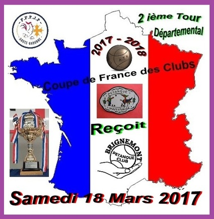 2 ième tour contre le Club de Martres Tolosane.