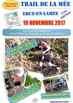 Trail de la Mée -  - Dimanche 19 novembre 2017