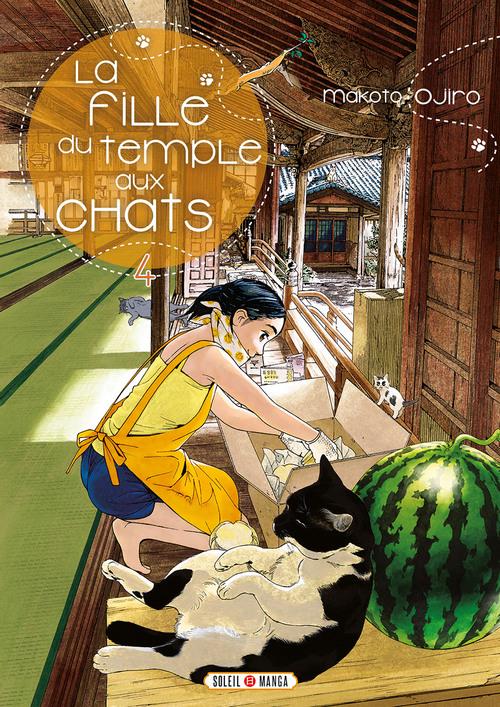 La fille du temple aux chats - Tome 04 - Makoto Ojiro