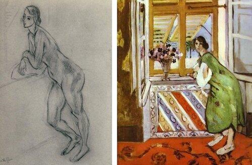 Matisse esquisse