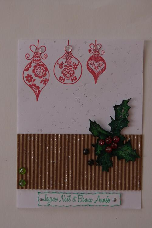 Des cartes , encore des cartes ..de Noêl .