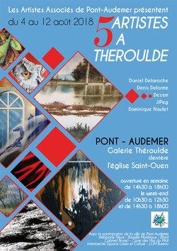 5 Artistes à Théroulde