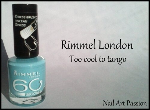 Rimmel London - Too cool to tango !