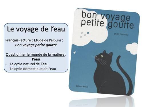 Album CP : Bon voyage petite goutte