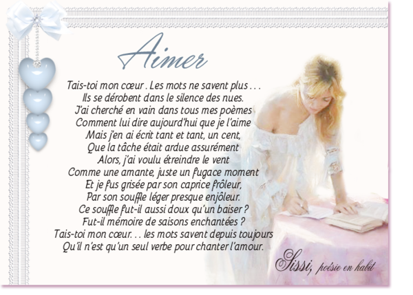 Poésie de Sissi Amour