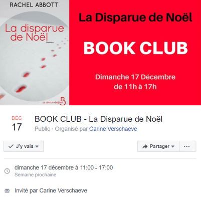 La disparue de Noel : Book
