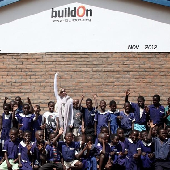 Here I am standing in front of one of 10 schools I built with Build On in Malawi! Lies have no legs.