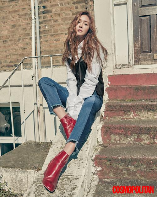 Jessica pour Cosmopolitan