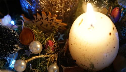 Noël 2019 : les bougies de l'Avent