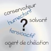 Lexique cosmétique (fonctions)