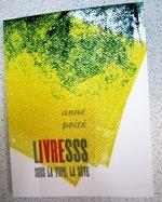 """CV complet - publications Anne Poiré """"Livresss"""""""