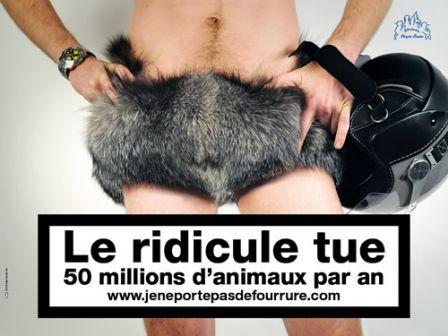 Campagne contre la fourrure - 1