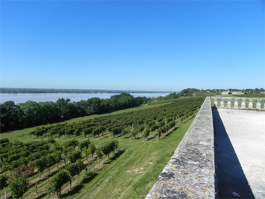 La corniche des bords de Gironde