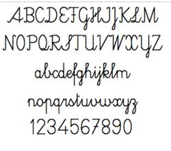 Ecriture cursive en Suisse