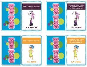 Jeu éducatif à imprimer : Jouons avec les émotions