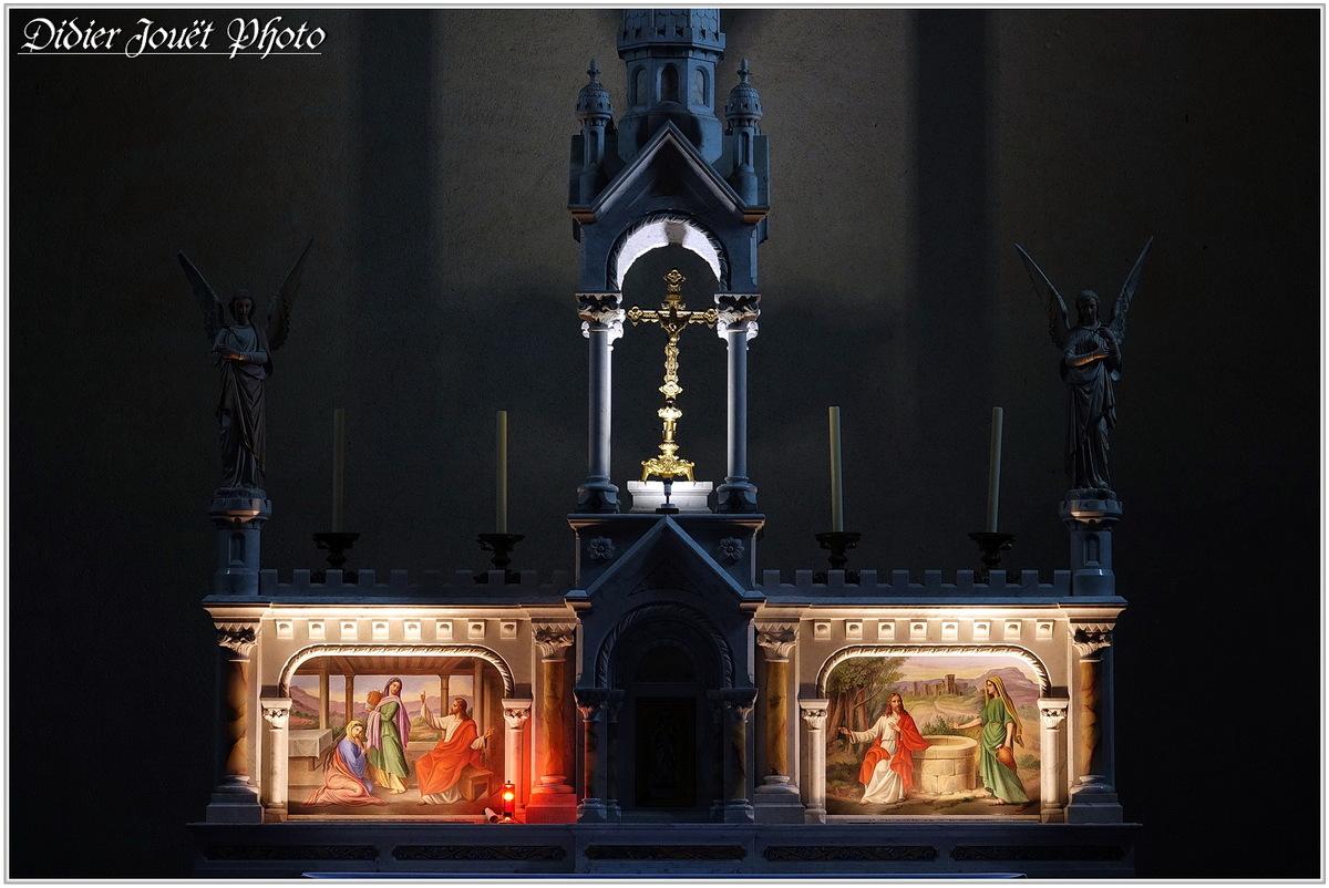 85 . Vendée - La Chaize le Vicomte (25) - Eglise Saint Nicolas