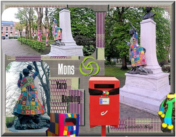YARN BOMBING,TRICOT, RUE, MONS ,BE,Häkelkunst, crochet de plein air,art  rue, tricot, , yarnbombing,art street, Knit Graffiti, Yarn Bombing, mons, belgie , Garngraffiti, Yarn bombing, yarnbombing, yarn storming, graffiti knitting, Wildbreien, Уличное вязание, В'язане графіті,